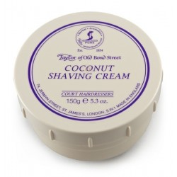 Taylor Bond Street Coconut Luxury shaving cream 150g