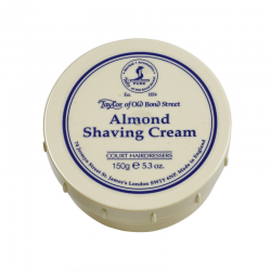 Taylor Bond Street Almond  shaving cream 150g