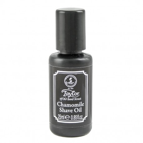 Taylor Bond Street Chamomile Shave Oil 25ml